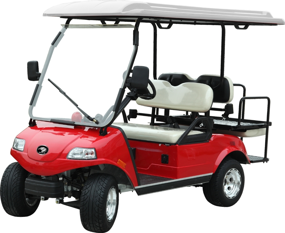 SAVE $1500! HDK 4 Passenger Electric in RED! From $5500
